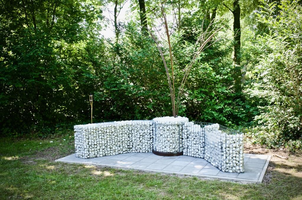 Het Kunstwerk 'Omarming' van Wilco Kostelijk. STiP Fotografie © Uitkijkpost Media B.v.