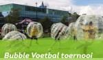 Bubble Voetbaltoernooi in Het Baafje