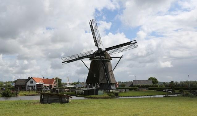 Molen De Dog in Uitgeest is geopend tijdens het weekend van Nationale Molendag.