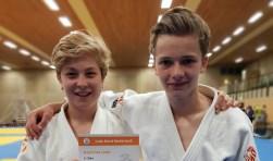 Fil Dekker (links) met zijn valmaat Jonne.