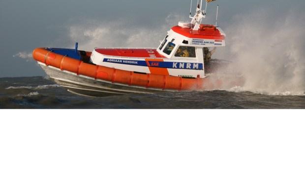 Reddingboot Adriaan Hendrik moest dinsdagnacht in actie komen.