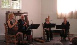 Het Brisk Recorder Quartet.