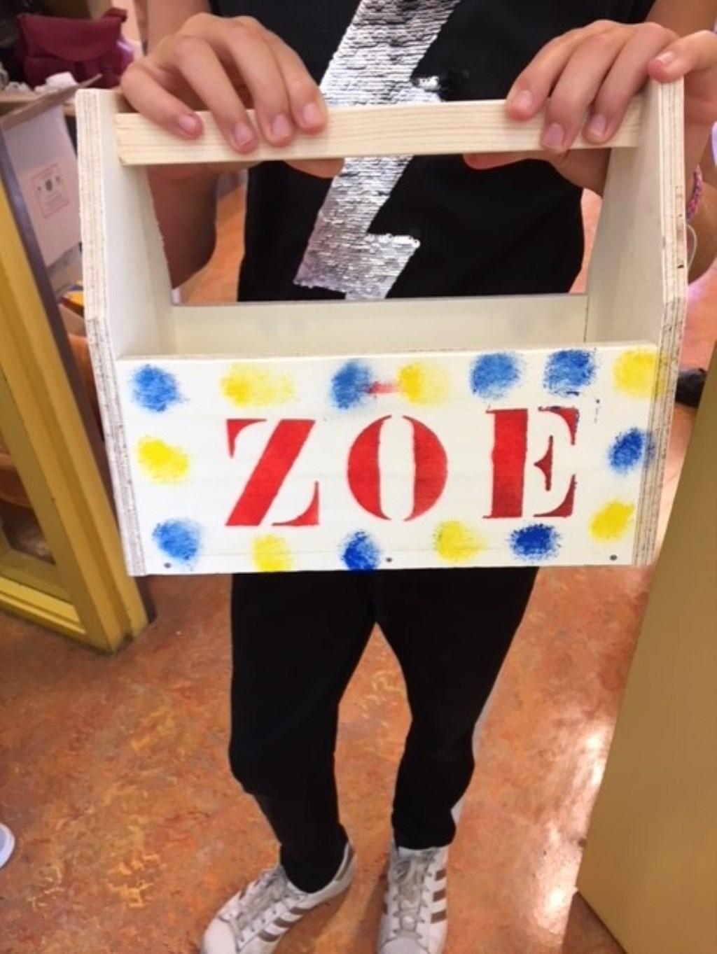 En... het eindresultaat van Zoe. Foto: aangeleverd © Uitkijkpost Media B.v.