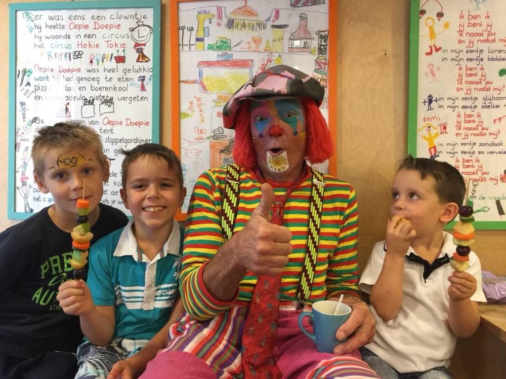 Clown Alfredo zal bij de opening aanwezig zijn