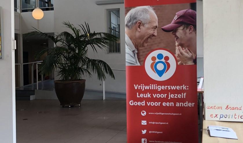 Het Vrijwilligers Informatie Punt in het gemeentehuis