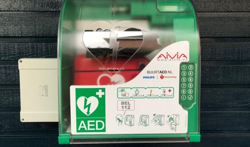 De AED op de Floraronde