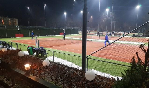Er werden veel mooie partijen gespeeld door de 180 deelnemers aan het toernooi.