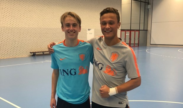 Tim Taylor (links) en Tom Sterkenburg.