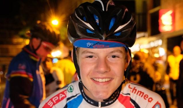 Lex Burgering (18 jaar) doet dit jaar voor de 7e keer mee aan de Alpe d'HuZes.