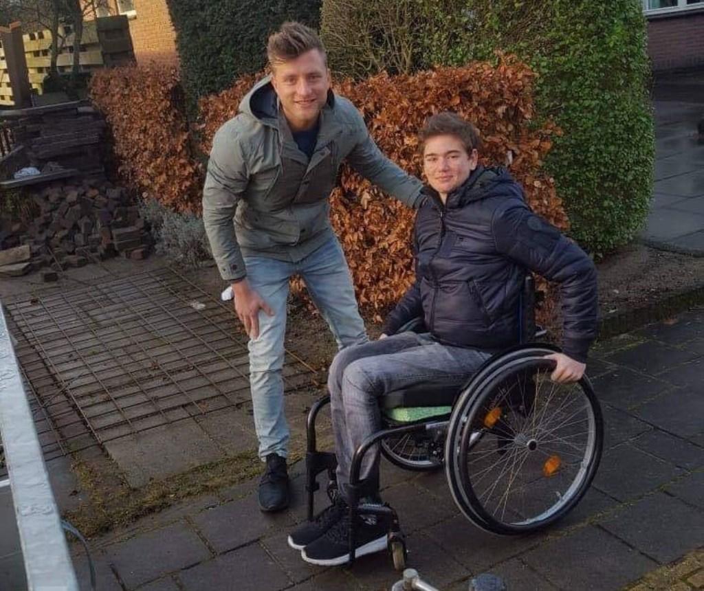 Terry met Jan Versteegh