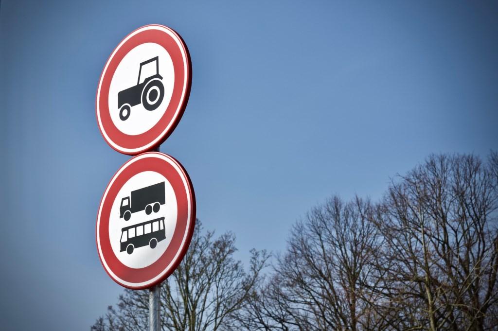 De verbodsborden welke geplaatst zijn bij de Stationsweg. Foto: STiP Fotografie © Uitkijkpost Media B.v.