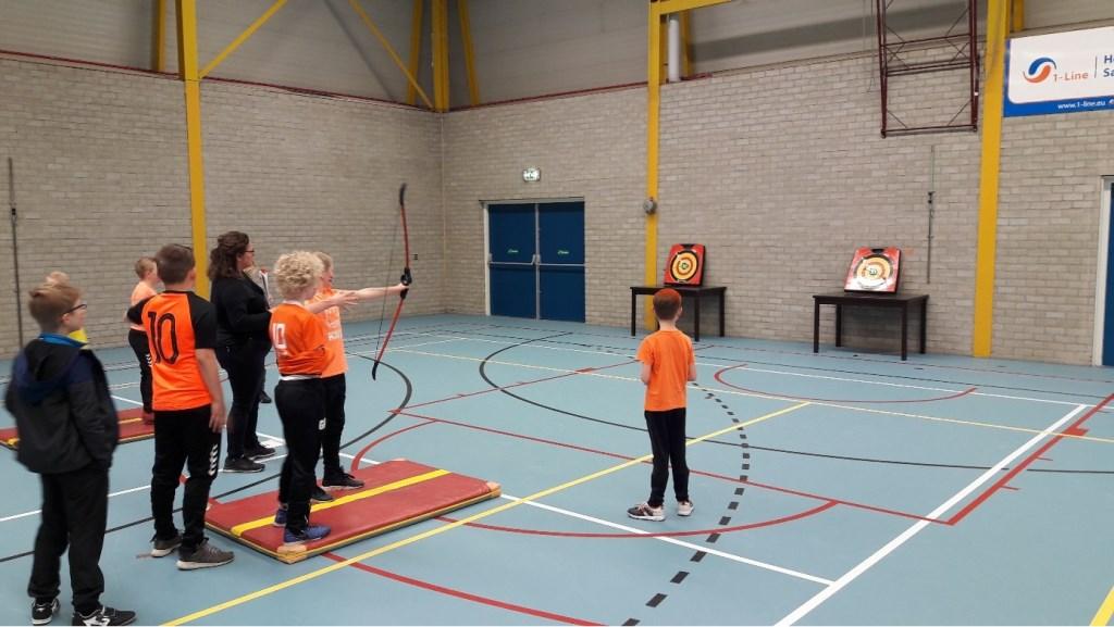 Leerlingen van Basisschool de Brug. Foto: Aangeleverd © Uitkijkpost Media B.v.