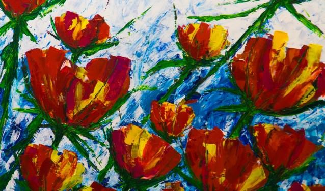 Het werk van cursisten is op 26 mei te bewonderen in het atelier van Madam Art.