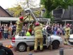 EHBO en brandweer hielden grote demonstratie