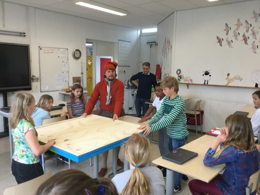 Cornelis Corneliszoon brengt een bezoek aan de Molenhoek.