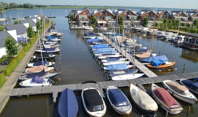 Vakantiepark de MeerParel: sfeer aan het meer.