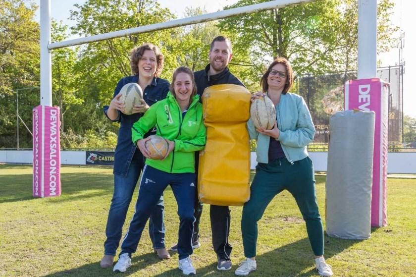 V.l.n.r.: Anne-Marie Sjardin, Joyce van Tunen, Gijs Pannekeet en Natalie van der Kolk