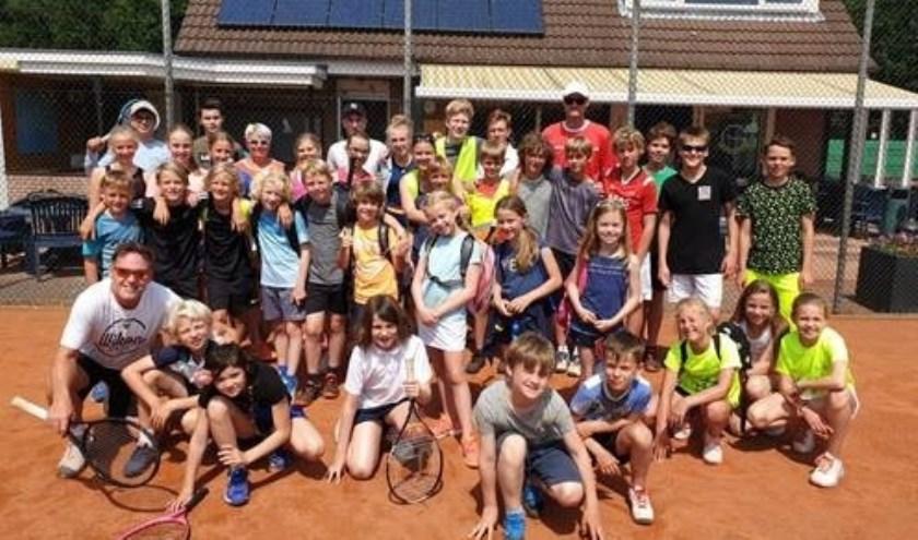 De jeugd van T.C. Heiloo heeft genoten van het jeugdkamp.