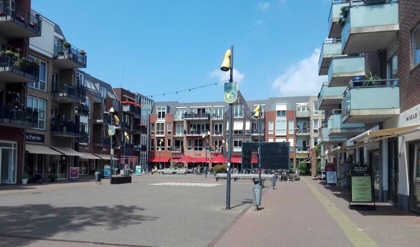 Het bakkerspleintje in Castricum.