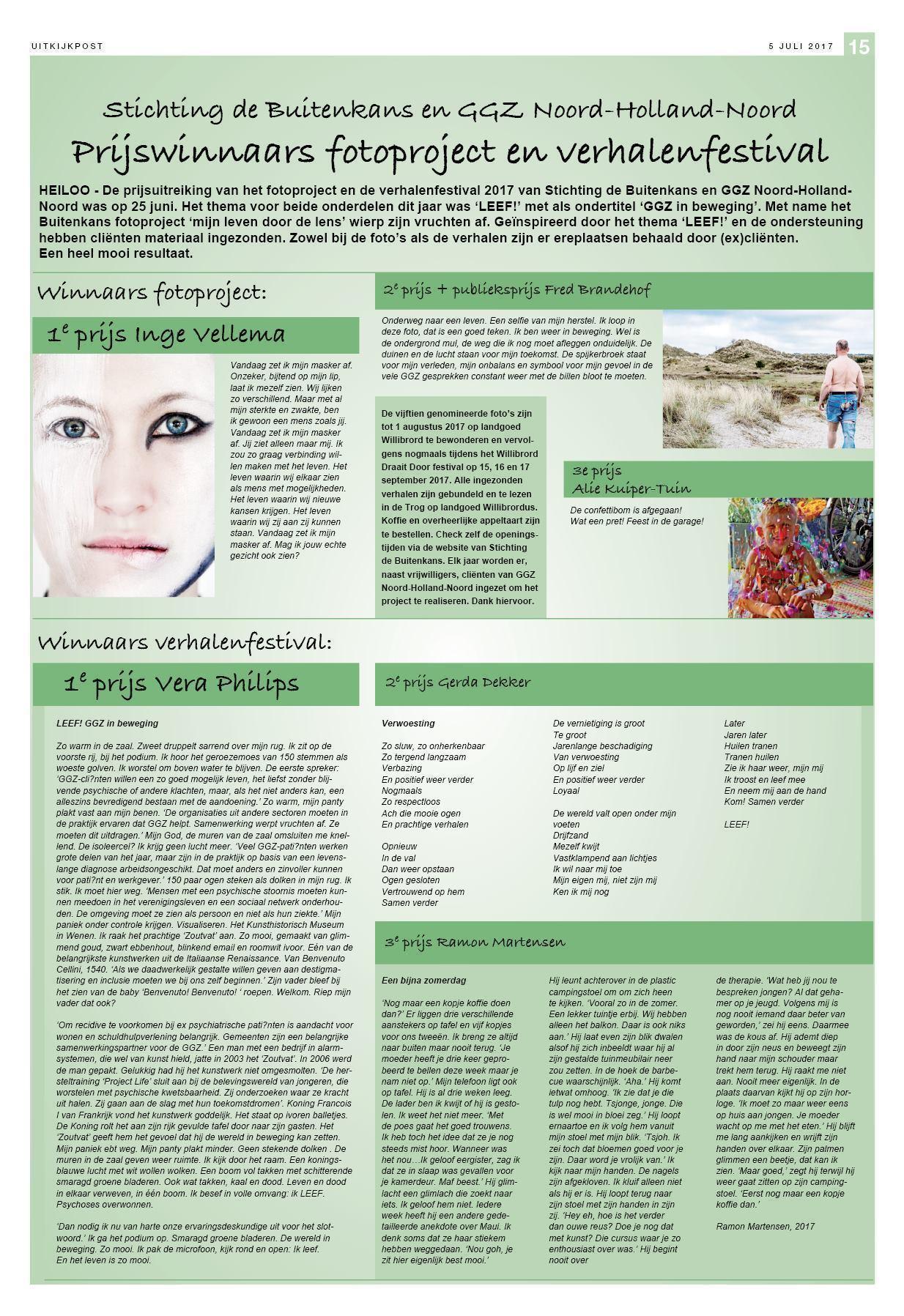 2535cc48d7a De Uitkijkpost 5 juli 2017