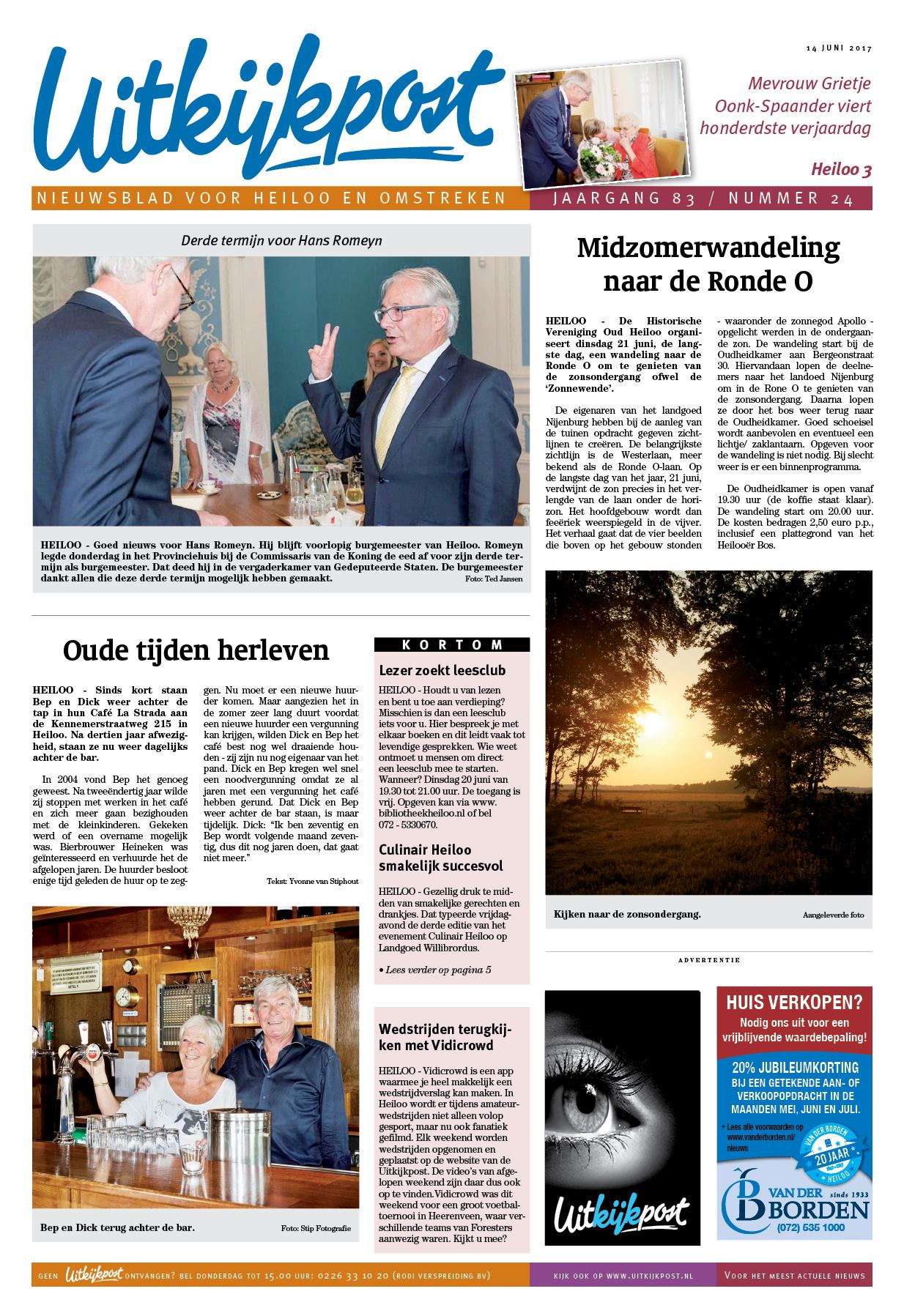 9d60aede40a934 De Uitkijkpost 14 juni 2017