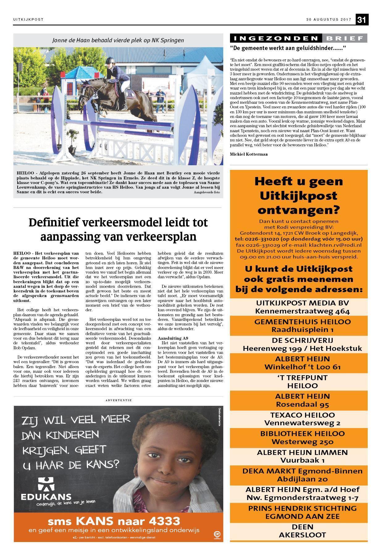 800b2fcd3c1073 De Uitkijkpost 30 augustus 2017