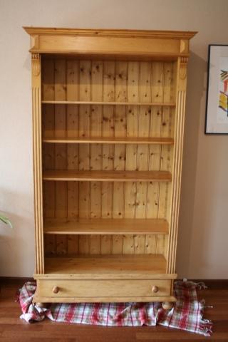 verkocht grenen boekenkast