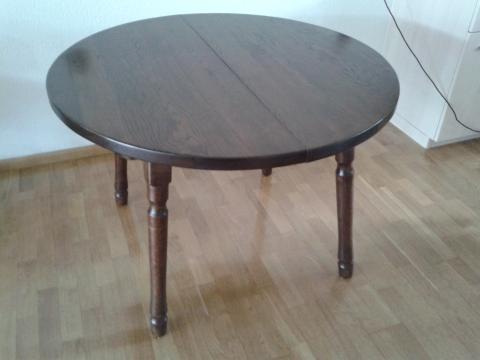 Ronde eettafel uitschuifbaar tafel design elegante ronde tafel