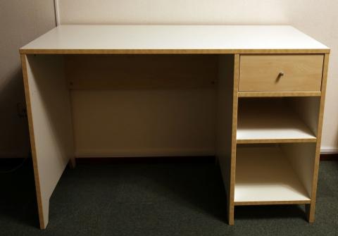 Ikea bureau wit berken marktplein