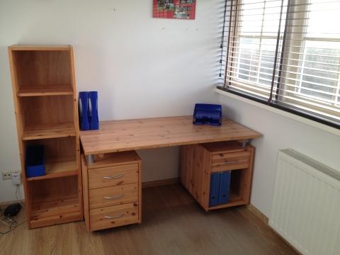 Ikea alex bureau meubels door eigen handen