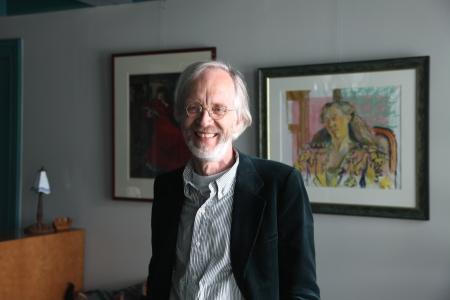 Professor Koerselman werd in juni onderscheiden.