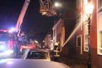 Brandweer gaat brand te lijf