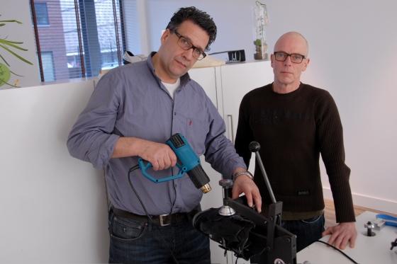 Marco-Paul Breijer (links) en Bart Haarselhorst.