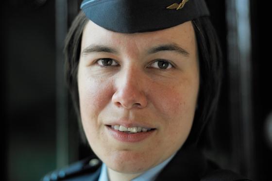 Luitenant-kolonel Esmeralda Kleinreesink spreekt op 4 mei in de Grote Kerk