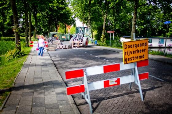 Nieuwstad voor verkeer afgesloten