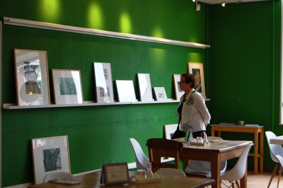 Ook in De Biblotheek is kunst te zien   © Enter Media
