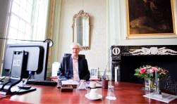 Burgemeester Bas Jan van Bochove.