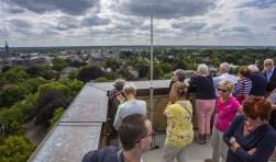 Een bezoek aan de raadhuistoren is onderdeel van de rondleiding. Foto: Bastiaan Miché