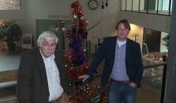 Fractie-Van den Berg met links Willem van den Berg en rechts Paul Sprey.