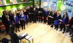 The City Singers eerder dit jaar in De Bibliotheek
