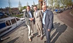 Sjoerd Huisingh van Jubal, Koos Kappert van de Cultuurprijs en Marcel Linthorst van Jubal