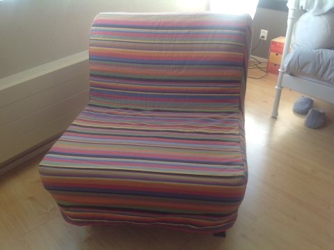 Slaapfauteuil marktplein for Slaap stoel