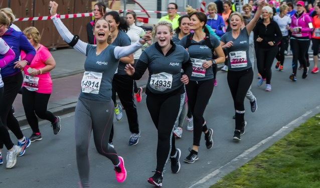 Veel plezier tijdens de laatste ladies run. Foto: Bastiaan Miché