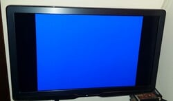 Geen televisie, geen EK-wedstrijd kijken....