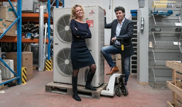 Denise Vossepoel en Frank ten Have zijn vereerd met de IVW-award. (Foto: Brian Elings)