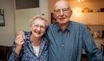 Jantje en Sas Holdinga-Siekmans zijn 60 jaar getrouwd.