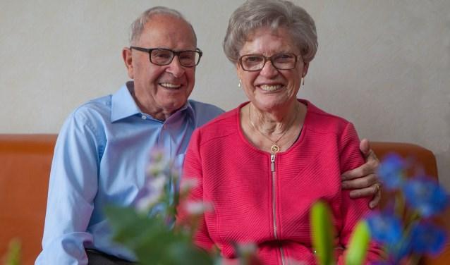 Henk en Frieda nog altijd gelukkig.