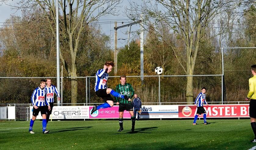 SV Diemen kwam tekort tegen SV Alliance '22.