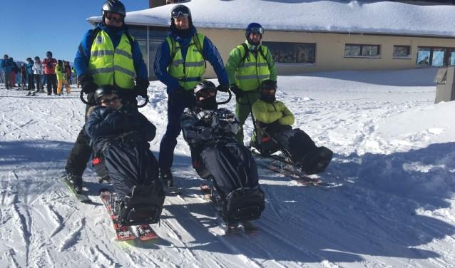SSO gaat al 25 jaar met gehandicapten skiën