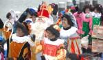 De aankomst van Sint vorig jaar was een groot feest.